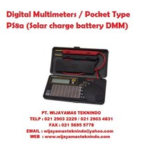Digital Multimeters Pocket Type PS8a (Solar charge battery DMM) Sanwa