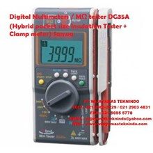 Digital Multimeters MΩ tester DG35A (Hybrid pocket size Insulation Tester + Clamp meter) Sanwa
