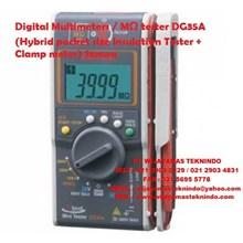 Digital Multimeters MΩ tester DG35A (Hybrid pocket size Insulation Tester + Clamp meter) Sanwa