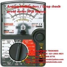 Analog Multitesters/Drop shock proof meter SP21 (Continuity check buzzer) Sanwa