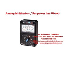 Analog Multitesters/For power line VS-100 (Current-limiting fuse 100kA breaking capacity is installed) Sanwa
