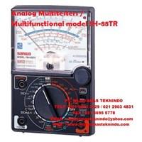 Analog Multitesters/Multifunctional model SH-88TR Zero center meter (NULL) Sanwa