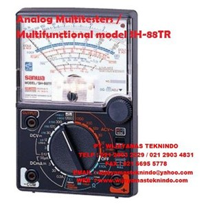Dari Analog Multitesters/Multifunctional model SH-88TR Zero center meter (NULL) Sanwa 0