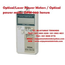 Optical Laser Power Meters/Optical power meter OPM-360 Sanwa