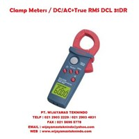 Clamp Meters/DC-AC+True RMS DCL 31DR Sanwa