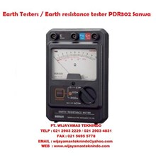 Earth Testers/Earth resistance tester PDR302 Sanwa