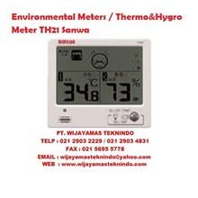 Environmental Meters/Thermo&Hygro Meter TH21 Sanwa