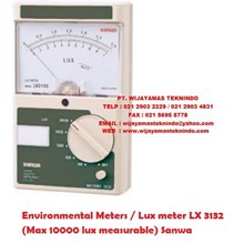 Environmental Meters/Lux meter LX 3132 (Max 10000 lux measurable) Sanwa