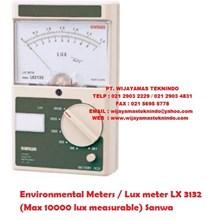 Environmental Meters/Lux meter LX 3132 (Max 10000 lux measurable) Sanwa