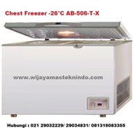 Chest Freezer  -26˚C AB-506-T-X (Kulkas dan Freezer)