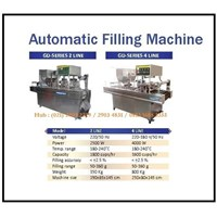 Mesin Pengemas Automatic Cup Filling And Sealing GD-SERIES 2 LINE 4 LINE Mesin Pengisian