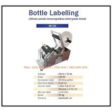 Mesin Labeling/Perekat Merk Kemasan Botol MT-50 Semi Automatic Mesin Pengkodean
