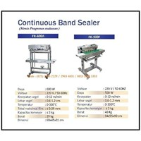 Jual Mesin Pengemas /Continuous Sealer Machine (Band Sealer) FR-600A & FR-900F Mesin Segel