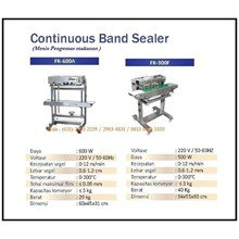 Mesin Pengemas /Continuous Sealer Machine (Band Sealer) FR-600A & FR-900F Mesin Segel