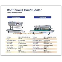 Jual Mesin Pengemas /Continuous Sealer Machine (Band Sealer) FRD-1000W & FRD-1000LW Mesin Segel