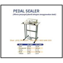 Pedal Sealer/ Penyegel Plastik FRP-800T & FRP-1000T Mesin Segel dan Pengikat