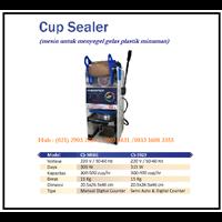Mesin Penyegel Gelas Plastik /Cup Sealer Machine CS-M686 & CS-S929 Mesin Press dan Bending