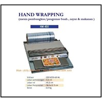 Mesin Pembungkus / Pengemas Makanan Hand Wrapping  HW-450 Mesin Press dan Bending