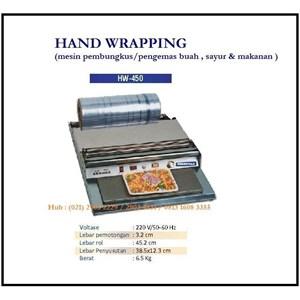 Dari Mesin Pembungkus / Pengemas Makanan Hand Wrapping  HW-450 Mesin Press dan Bending 0