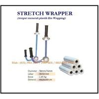 Tempat Menaruh Plastik Wrapping /  Menyimpan Plastik Hand Stretch Wrapper PP-E610 Mesin Segel dan Pengikat