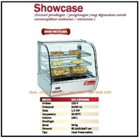 Lemari Pendingin atau Penghangat Makanan/Showcase SHW-HRTR160L Mesin Makanan dan Minuman Cepat Saji