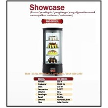 Lemari Pendingin atau Penghangat Makanan/Showcase SHC-CRT72L Mesin Makanan dan Minuman Cepat Saji