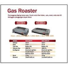 Pemanggang Daging Ayam /Gas Roaster ROS-GSB70 /ROS-GSB122 Mesin Makanan dan Minuman Cepat Saji