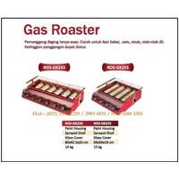 Pemanggang Daging Ayam /Gas Roaster ROS-GK233 /ROS-GK255 Mesin Makanan dan Minuman Cepat Saji