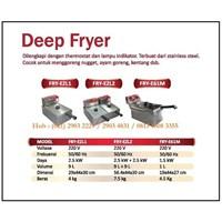 Alat Penggorengan / Deep Fryer FRY-EZL1 /FRY-EZL2 / FRY-E61M Mesin Makanan dan Minuman Cepat Saji