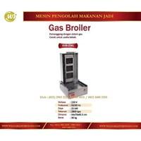 Alat Pemanggang / Gas Broiler GVB-ZDKL Mesin Makanan dan Minuman Cepat Saji