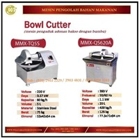 Mesin Pengaduk Adonan Bakso / Bowl Cutter MMX-TQ5S / MMX-QS620A Mesin Makanan dan Minuman Cepat Saji