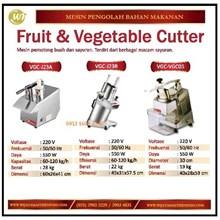 Mesin Pemotong Buah dan Sayuran / Fruit & Vegetable Cutter VGC-J23A /VGC-J23B / VGC-VGC05 Mesin Pengolah Buah dan Sayur