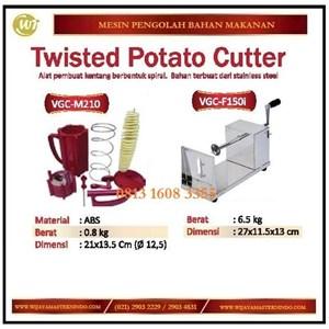 Dari Alat Pemotong Kentang Spiral /Twisted Potato Cutter VGC-M210 / VGC-F150i Mesin Pengolah Buah dan Sayur 0