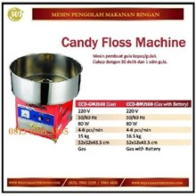 Mesin Gulali / Permen Kapas / Candy Floss Machine CCD-GMJ500 / CCD-BMJ500 Mesin Pengaduk
