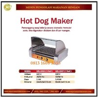 Mesin Panggangan Sosis Bakar / Hot Dog Maker GRL-ER25/GRL-ER27 Mesin Pemanggang