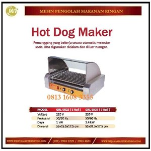 Jual Mesin Panggangan Sosis Bakar Hot Dog Maker GRL ER25