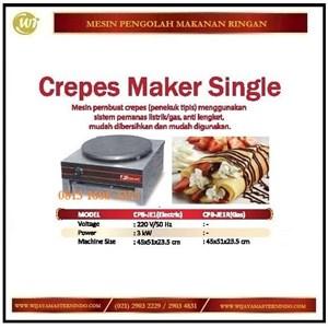 Dari Mesin Pembuat Crepes / Crepes Maker Single CPB-JE1 / CPB-JE1R Mesin Penggorengan 0