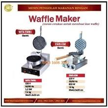 Mesin Cetakan Kue Waffle / Waffle Maker WFB-TWB1 / EWB-E30 Mesin Penggorengan