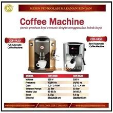 Mesin Pembuat Kopi / Coffee Machine COF-FA50 / COF-FA20 Mesin Makanan dan Minuman Cepat Saji