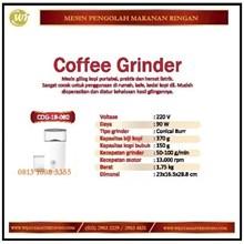 Mesin Penggiling Biji Kopi / Coffee Grinder COG-18-080 Mesin Makanan dan Minuman Cepat Saji