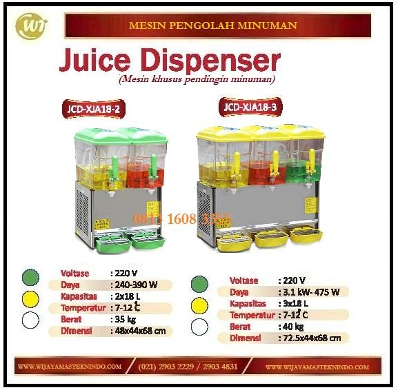 sell mesin pendingin minuman juice dispenser jcd xja18 2 jcd xja18 3 from indonesia by pt. Black Bedroom Furniture Sets. Home Design Ideas