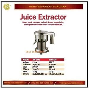 Dari Mesin Pembuat Jus Buah / Juice Extractor JEX-G120/JEX-G150 Mesin Makanan dan Minuman Cepat Saji 0