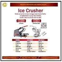 Mesin Serut Es / Ice Crusher ICE-300BD/ICH-SB114 Mesin Makanan dan Minuman Cepat Saji