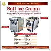Mesin Pembuat Es Krim / Soft Ice Cream ICR-AC-25CTB / ICR-AC-25CTW Mesin Makanan dan Minuman Cepat Saji