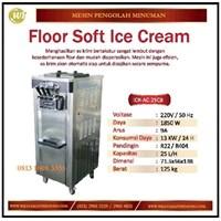 Mesin Pembuat Es Krim / Floor Soft Ice Cream ICR-AC-25CB Mesin Makanan dan Minuman Cepat Saji