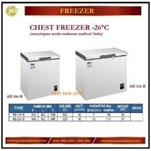 Mesin Pembeku / Lemari Pendingin Chest Freezer AB-106-R / AB-226-R Mesin Makanan dan Minuman Cepat Saji