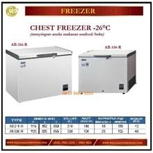 Mesin Pembeku / Lemari Pendingin Chest Freezer AB-316-R / AB-336-R Mesin Makanan dan Minuman Cepat Saji