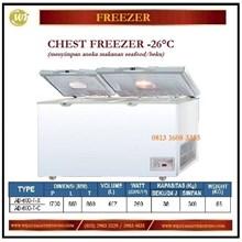 Mesin Pembeku / Lemari Pendingin Chest Freezer AB-600-TX / AB-600TC Mesin Makanan dan Minuman Cepat Saji