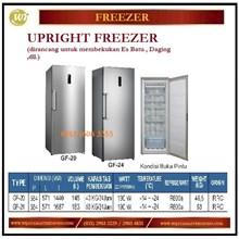 Mesin Pembeku Es / Upright Freezer GF-20 / GF-24 Mesin Makanan dan Minuman Cepat Saji