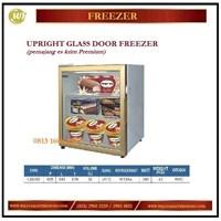 Pemajang Es krim / Upright Glass Door Freezer LSD-55 Mesin Makanan dan Minuman Cepat Saji